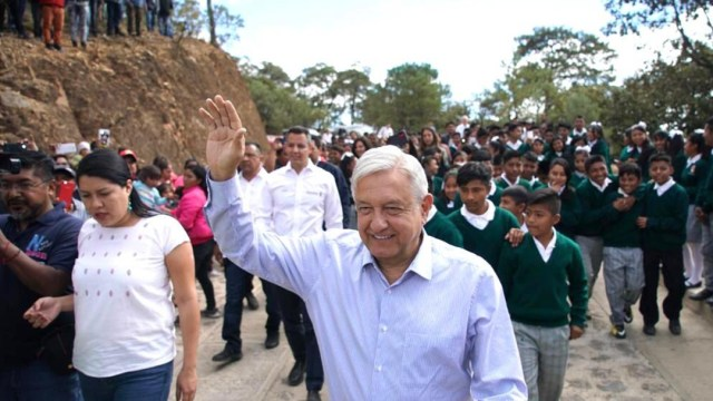 Foto: Tenemos que hacer historia para sacar adelante a México: AMLO, 18 de enero de 2020, (Presidencia)