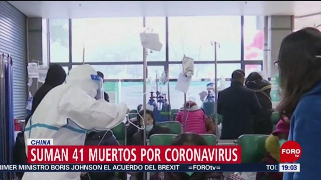 Foto: Coronavirus China 41 Personas Muertas 24 Enero 2020