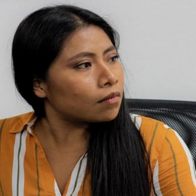 Yalitza Aparicio, interesada en trabajar por la educación indígena