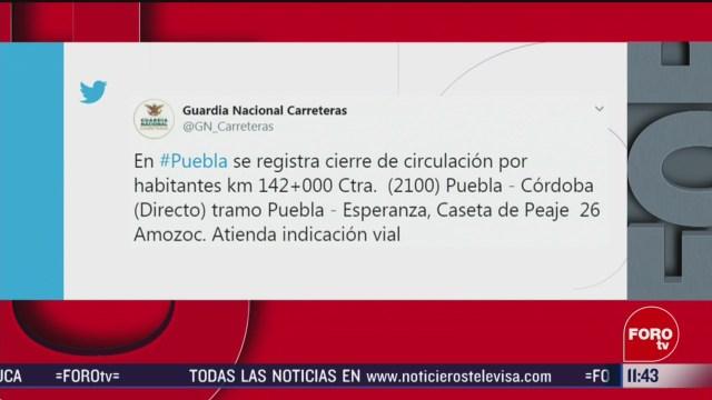 Recicladores bloquean diferentes carreteras de México