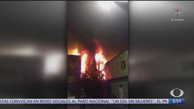 Se registran dos incendios en diferentes puntos de la CDMX