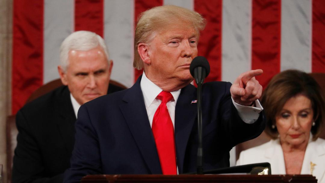 Donald Trump, presidente de Estados Unidos. (Reuters)