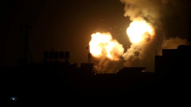 Foto: Israel ataca objetivos de la Yihad Islámica en Gaza y Siria, 15 de febrero de 2020, (Reuters)