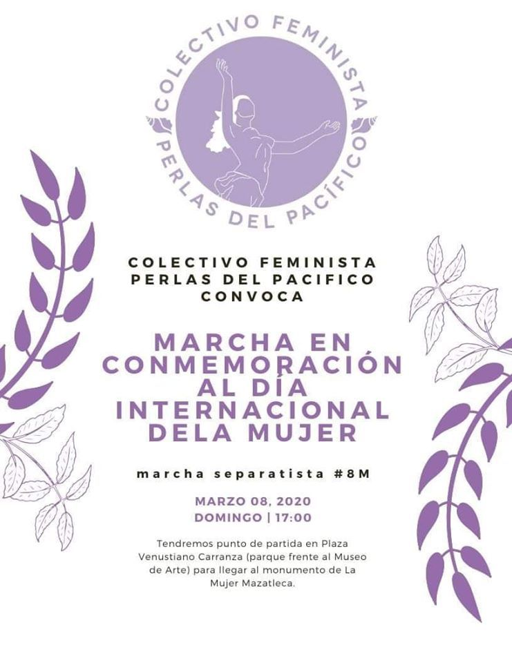 Foto ¿A qué hora es la marcha feminista del 8 de marzo?