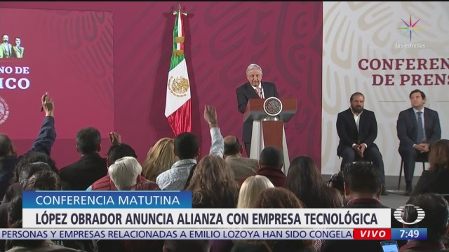 amlo anuncia inversion de empresa global de tecnologia en mexico