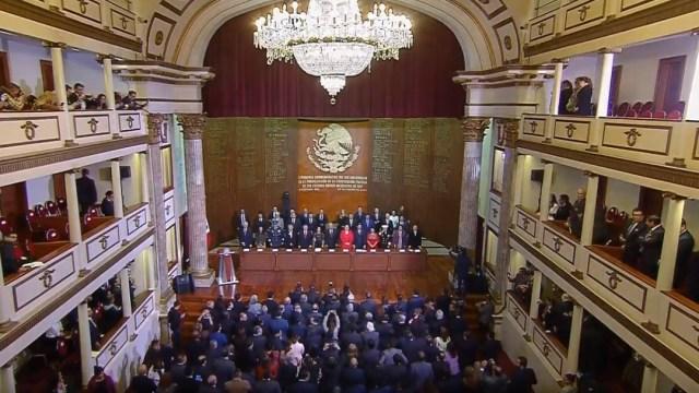 Foto: AMLO conmemora en Querétaro Aniversario de la Constitución de 1917