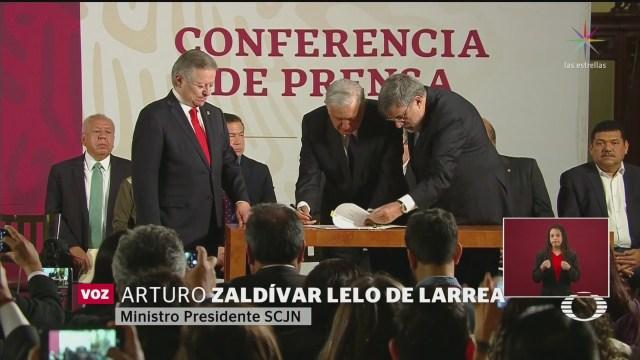 Foto: Amlo Envía Iniciativa Reforma Judicial Senado 12 Febrero 2020
