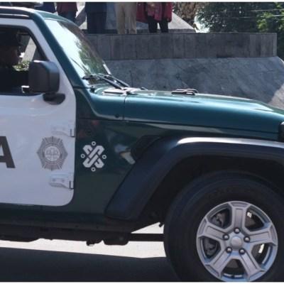 Imagen: Mujer con arma de fuero fue arrestada en centro comercial de Iztapalapa, 22 de febrero de 2020 (GRACIELA LÓPEZ /CUARTOSCURO.COM)