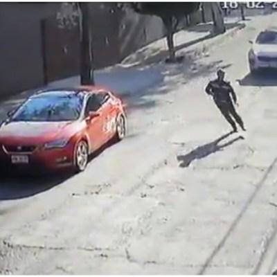 Foto: Difunden video del asalto a un cuentahabiente en la CDMX, 23 de febrero de 2020 (Foro TV)