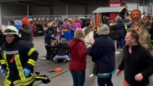 FOTO: Atropello masivo de Volkmarsen fue intencionado, dice la Policía, el 24 de febrero de 2020