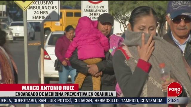 Foto: Casos Influenza Coahuila Aumentan 13 Febrero 2020