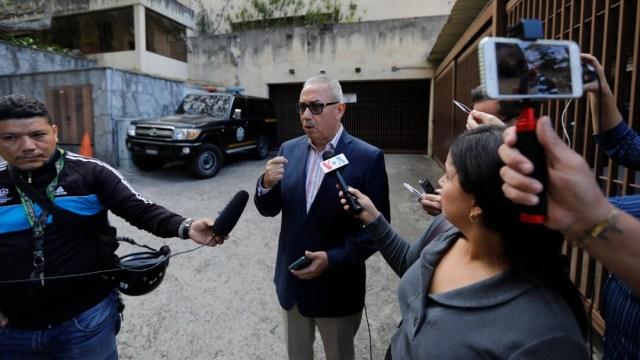 Foto: Autoridades allanan la vivienda del tío de Guaidó en Caracas