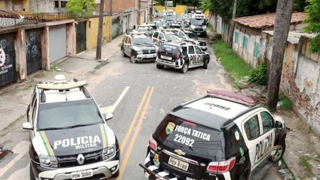 Foto: Ante la crisis, el ejército fue enviado para reforzar la seguridad en Fortaleza, capital Ceará; días previos a la huelga, cuyo inicio fue el 18 de febrero, se registraron 164 homicidios, menos de seis al día