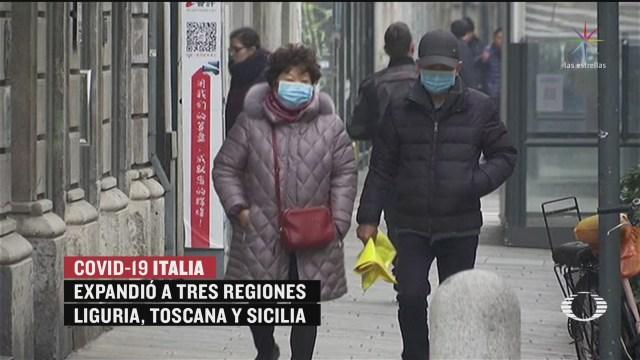 Foto: Brote Coronavirus Expande Italia México Toma Previsiones 25 Febrero 2020