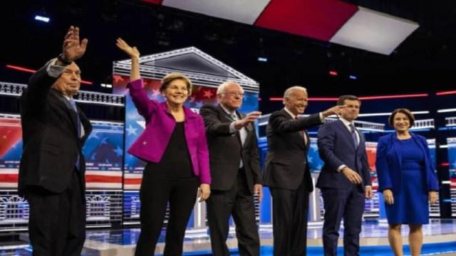 FOTO: Candidatos presidenciales demócratas en EEUU, el 28 de febrero de 2020