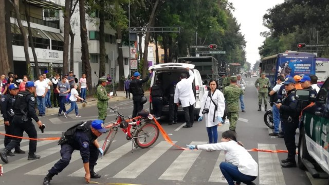 ciclista atropellado cdmx