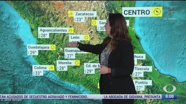 clima al aire 40c para michoacan y guerrero