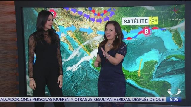 clima al aire calor en gran parte de mexico