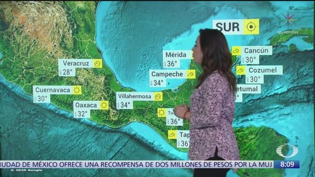 clima al aire suben las temperaturas en mexico