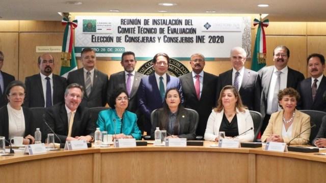 Instalan Comité Técnico Evaluador para consejeros del INE