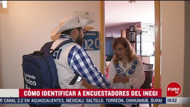Foto: Censo 2020 Entrevistadores Cómo Identificarlos 27 Febrero 2020