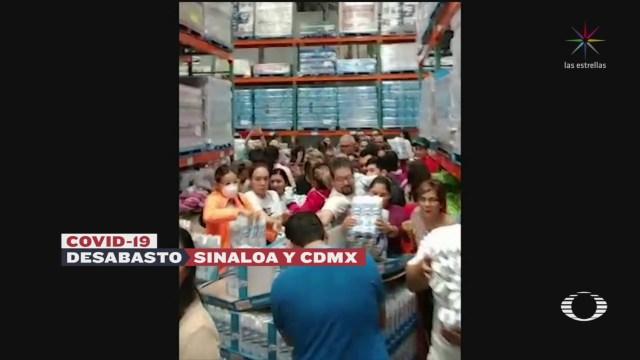 Foto: Compras Pánico Desabasto Cubrebocas Gel Antibacterial Sinaloa Cdmx 28 Febrero 2020