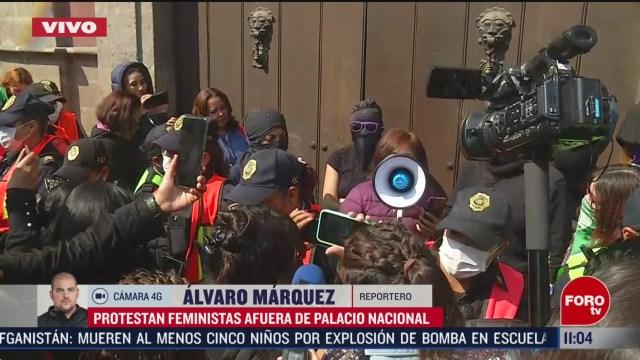 concluye reunion sin acuerdo de feministas con autoridades