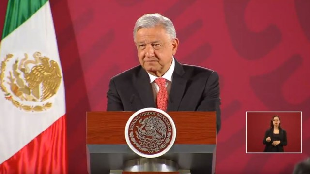 Foto: El presidente de México, Andrés Manuel López Obrador (AMLO), en su conferencia de prensa matutina, 26 febrero 2020
