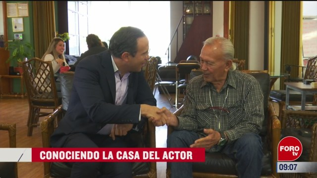 conociendo la casa del actor