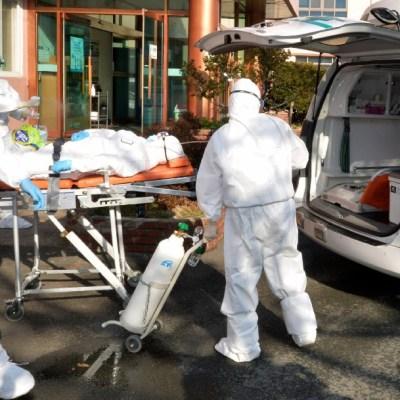 Suman 433 contagiados por coronavirus en Corea del Sur
