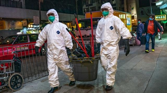 Foto: Corea del Sur subió la alerta por coronavirus al nivel más alto, 23 febrero 2020