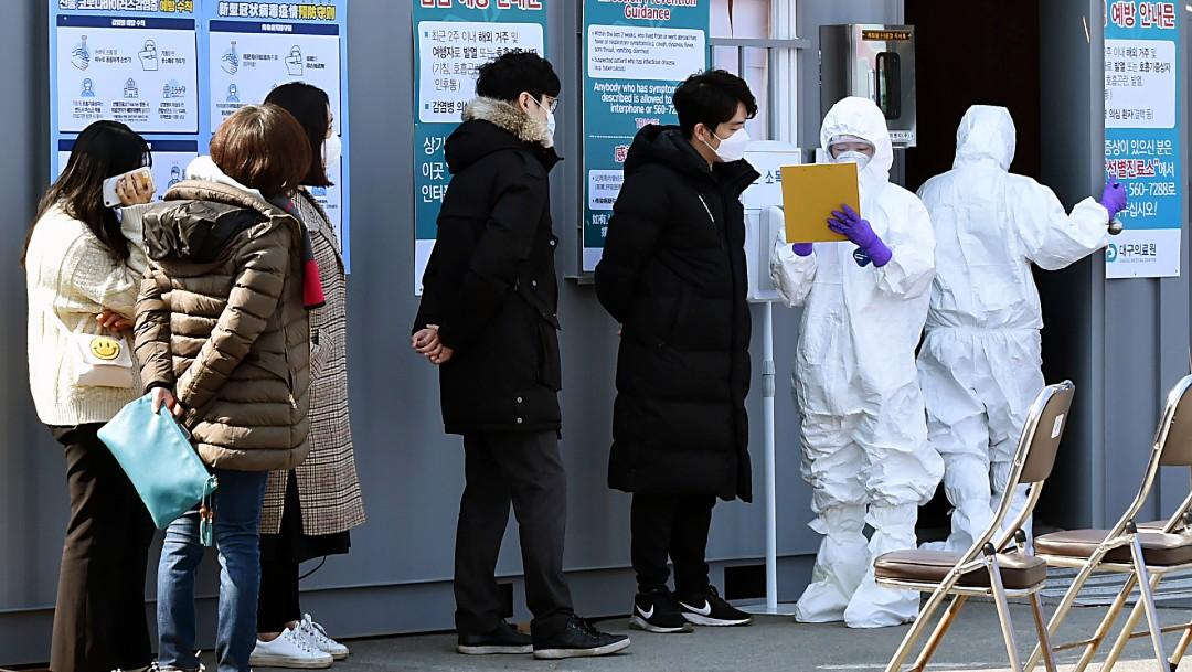 Muere la primera persona en Corea del Sur por coronavirus