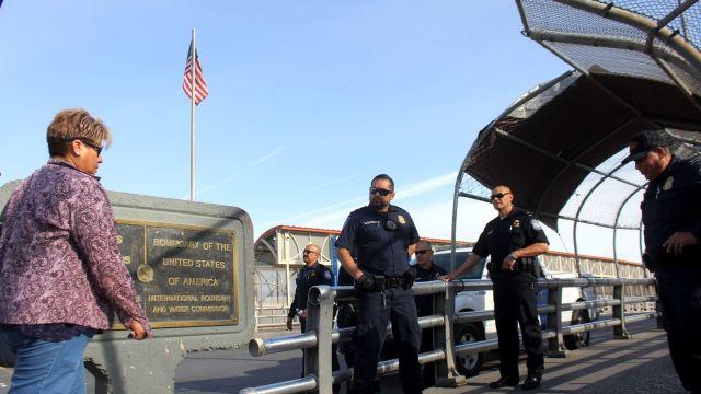 Imagen: Reabrió este sábado el cruce fronterizo de El Paso-Ciudad Juárez, 29 de febrero de 2020 (NACHO RUIZ /CUARTOSCURO.COM)