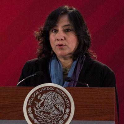 Irma Erendira Sandoval, secretaria de la Función Pública