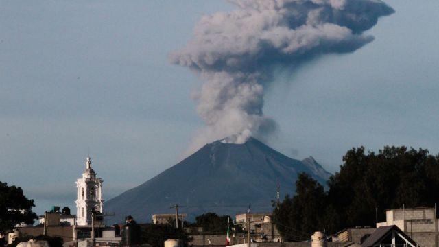 Murió Don Goyo, el guardián y vigilante del Popocatépetl