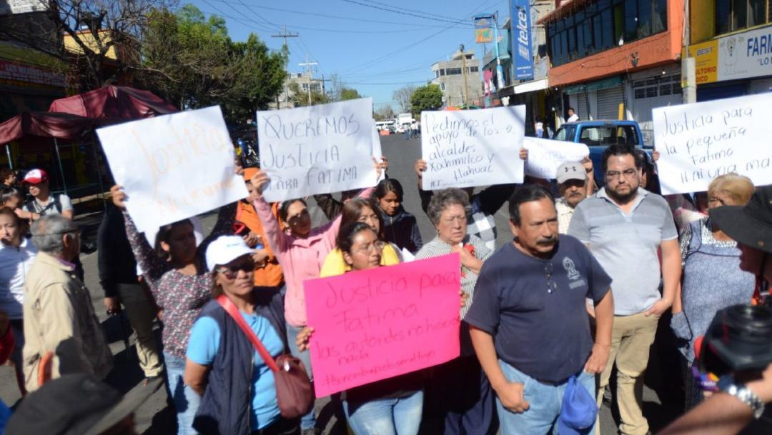 Foto: Familia de Fátima asegura que las autoridades pudieron salvar su vida 17 de febrero de 2020, (ARMANDO MONROY/CUARTOSCURO.COM)