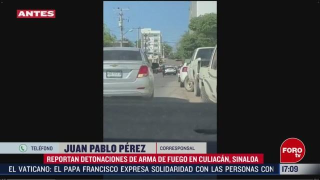 FOTO: culiacan se mantiene en alerta por balacera al norte de la ciudad