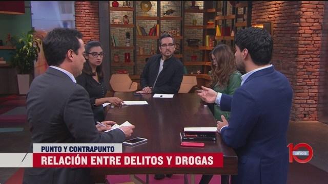 delitos mexico relacionados drogas estrategia amlo