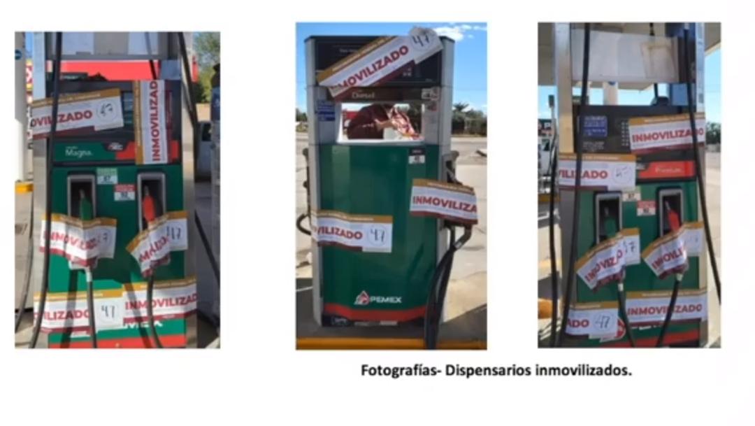 FOTO Profeco inmovilizó 16 mangueras en gasolineras verificadas el 11 de febrero de 2020 (YouTube/AMLO)