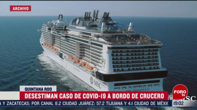 Foto: Coronavirus Crucero Llegará Cozumel Descartado 26 Febrero 2020