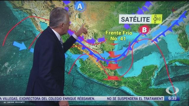despierta con tiempo norte intenso en golfo de mexico y bajas temperaturas