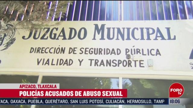 detienen a 3 policias en tlaxcala por presunto abuso sexual