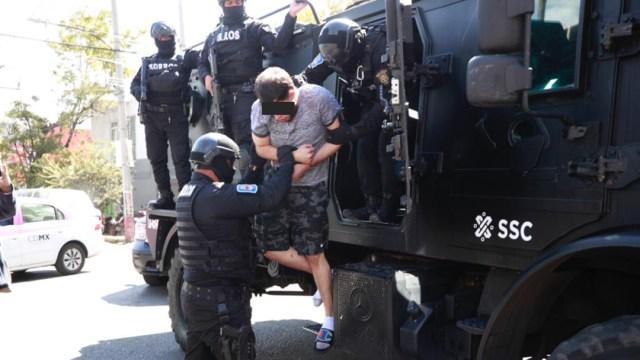 """Detienen a """"El Colocho"""", operador de """"La Unión de Tepito"""". (SSC)"""