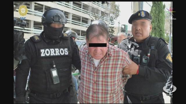 Foto: Detienen Sujetos Vinculados Asaltos Cuentahabientes Cdmx 6 Febrero 2020