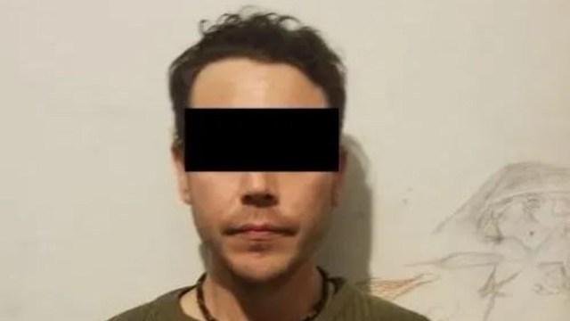 Foto: Mauricio Santoy, hermano del 'Asesino de Cumbres' es enviado al penal de Cadereyta, 9 de febrero de 2020, (Noticieros Televisa)