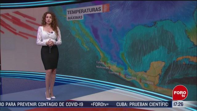 FOTO: clima con mayte carranco del 27 de febrero de
