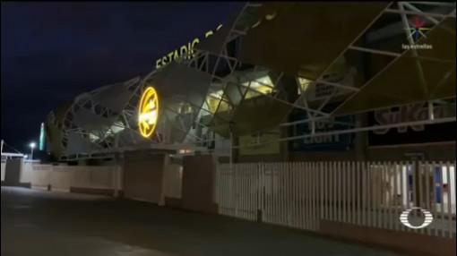 Foto: Embargan Estadio Los Dorados Culiacán Sinaloa11 Febrero 2020