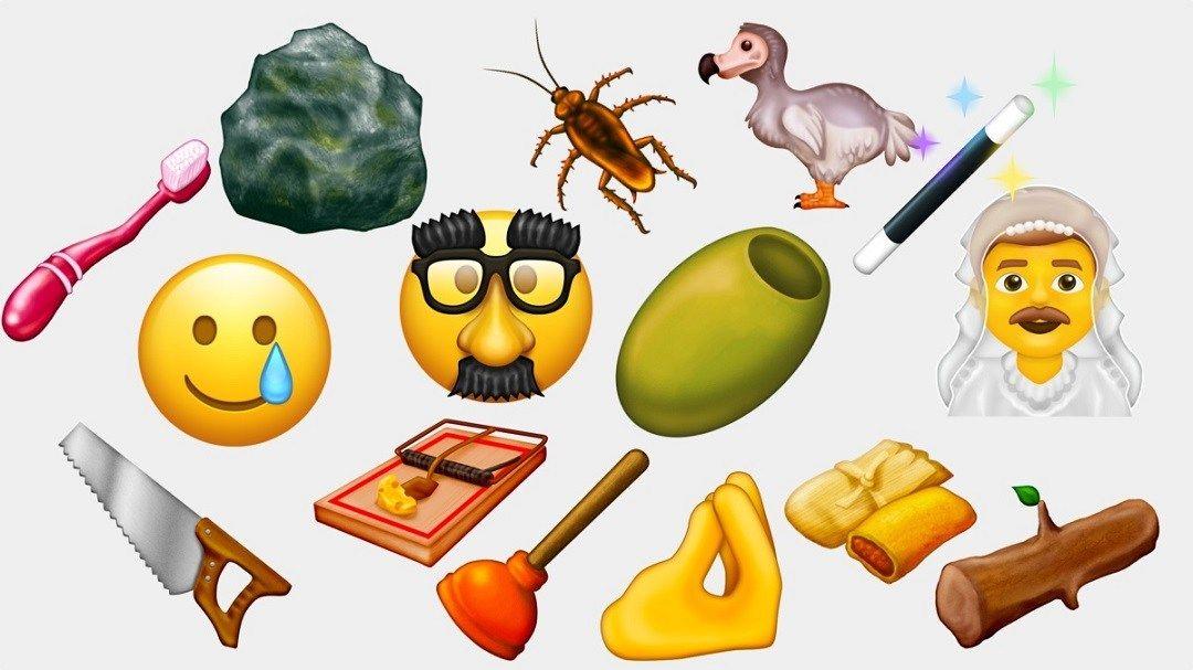 Emojis propuestos por la institución Emojination