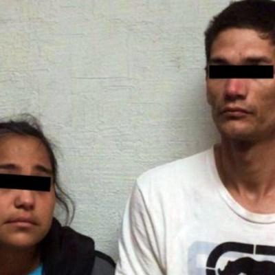 Encuentran a bebé intoxicado con 'cristal'; los papás son detenidos
