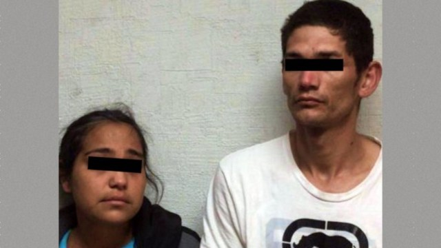 Foto: Encuentran a bebé intoxicado con 'cristal'; los papás son detenidos, 9 de febrero de 2020, (Fiscalía de Sonora)